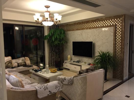 欧式新古典风格三房两厅设计方案