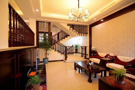 山水华门现代中式风格案例