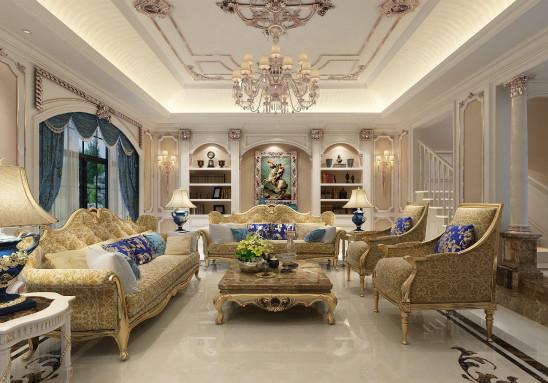 浪漫的法式别墅设计