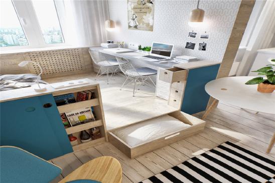 86㎡简约设计公寓