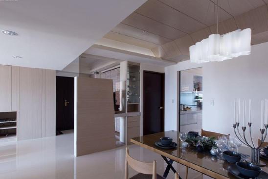 混搭86平方二居室家装设计