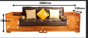 苏梨现代新中式家具 花好月圆 新中式风格客厅 花好月圆客厅沙发 HKS21