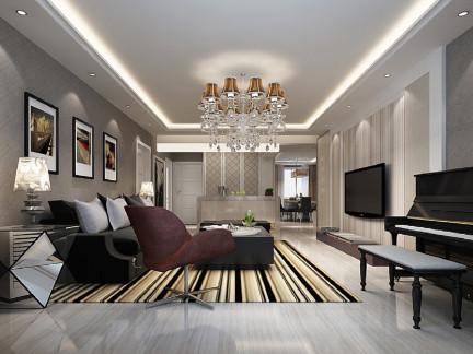 新古典风格两居室