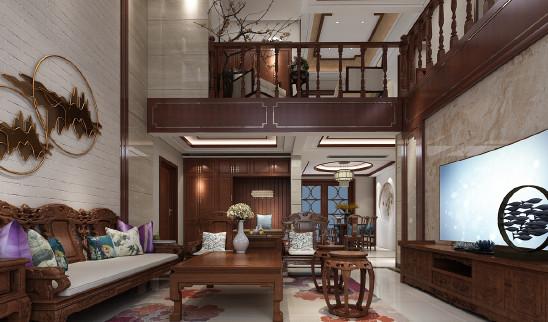新中式设计风格 别墅