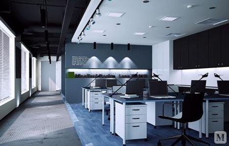 办公室效果图 办公室装修风格