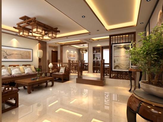 中国风中式风格别墅