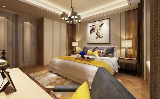 新中式风格三房两厅