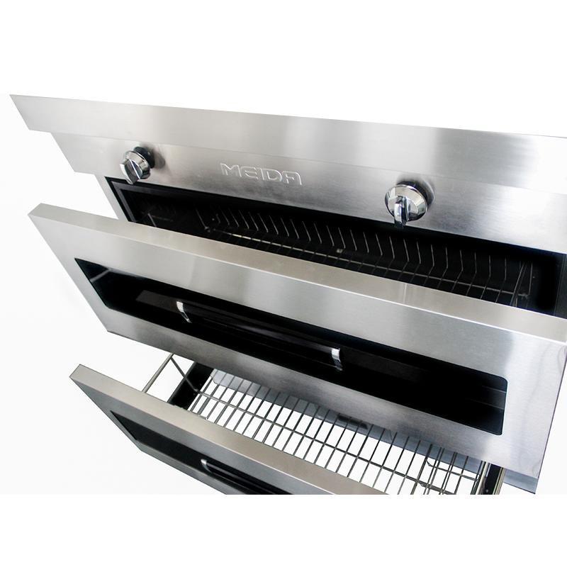 美大 美大(MEIDA)集成灶 侧吸式环保灶 抽油烟机灶具 美大-750 现代 JJZT-1303