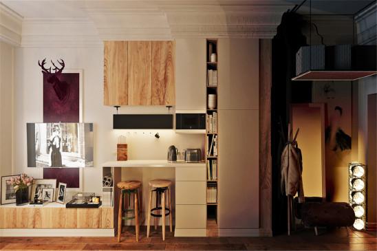 多元化简欧风公寓