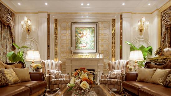 金色的金碧辉煌的优雅