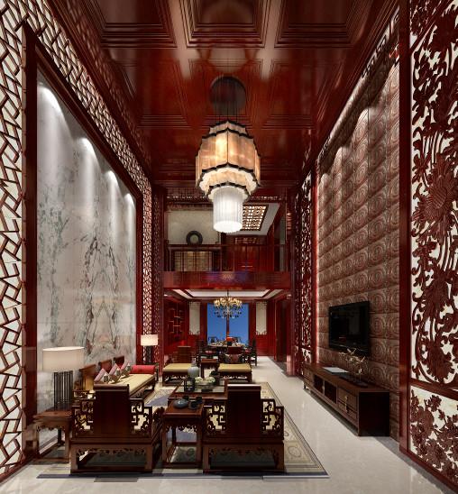 中央公馆别墅中式
