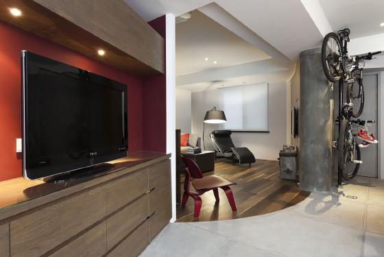 求拥有一种自然简约的居室空间
