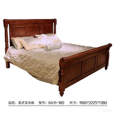 1.8米实木双人床