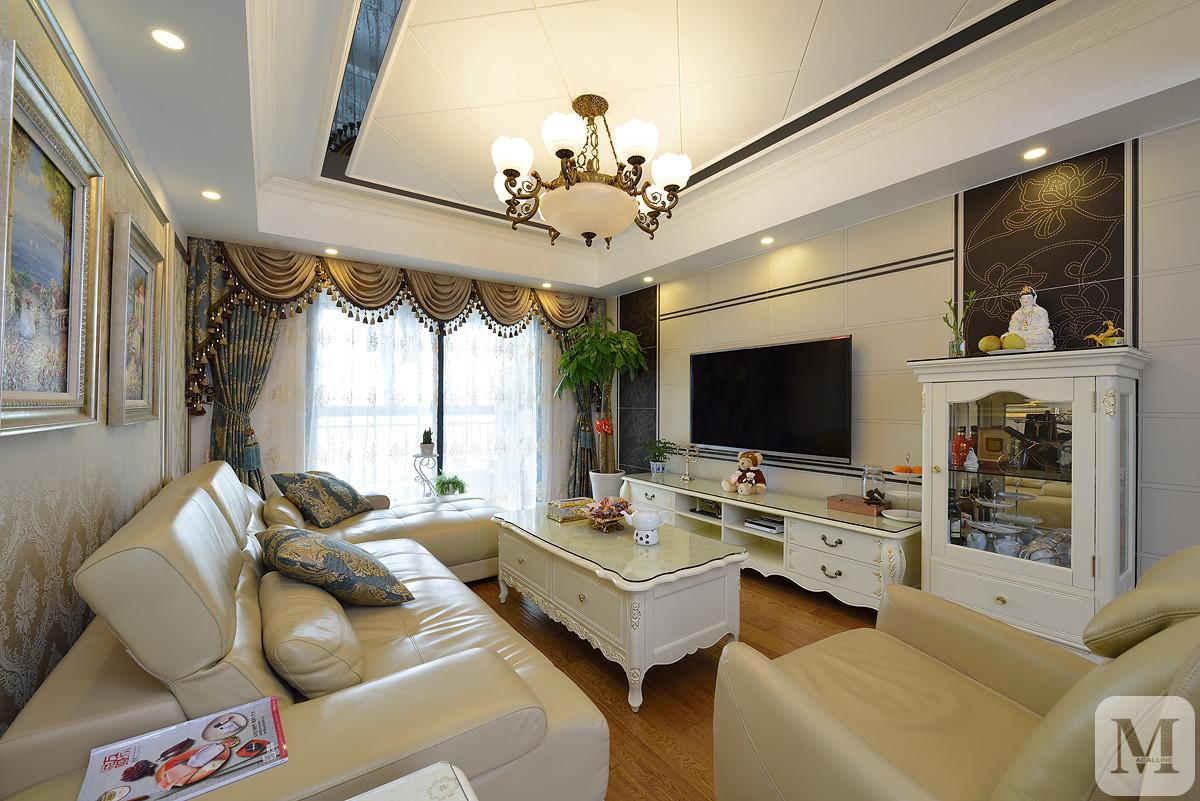 简欧风格两居室生活,家的感觉