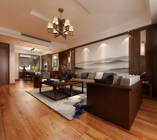 四室两厅 新中式设计