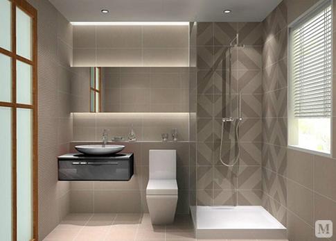卫生间效果图 卫生间装修注意事项