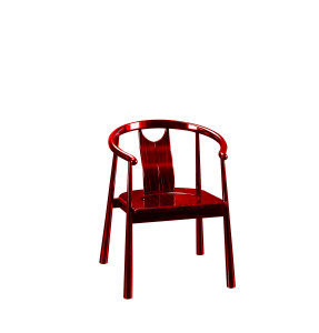 华典清风 刺猬紫檀(Pterocarpus erinaceus)圈椅 刺猬紫檀新中式圈椅 006