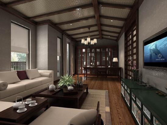 晋渝林畔别墅装修工程设计