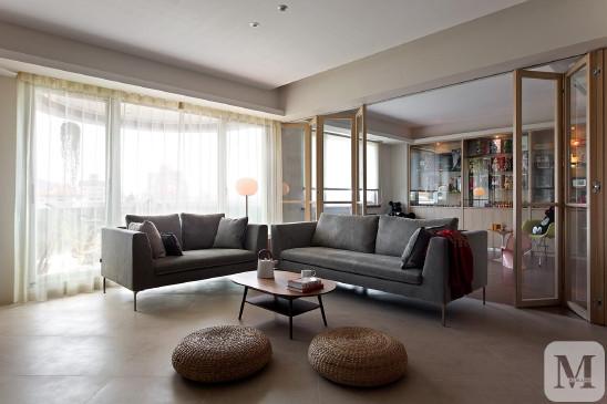 现代简约风格设计三室