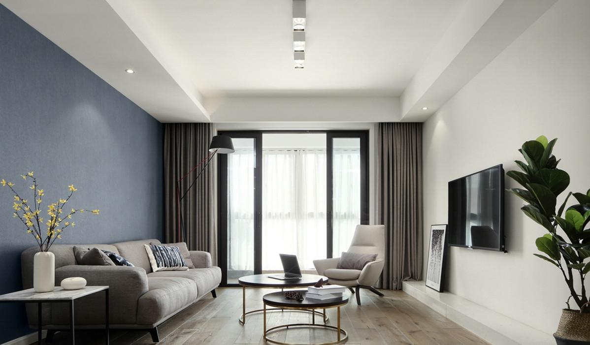 102㎡的三居室收纳功能太强大!半开半合的超高储物柜绝对是亮点!