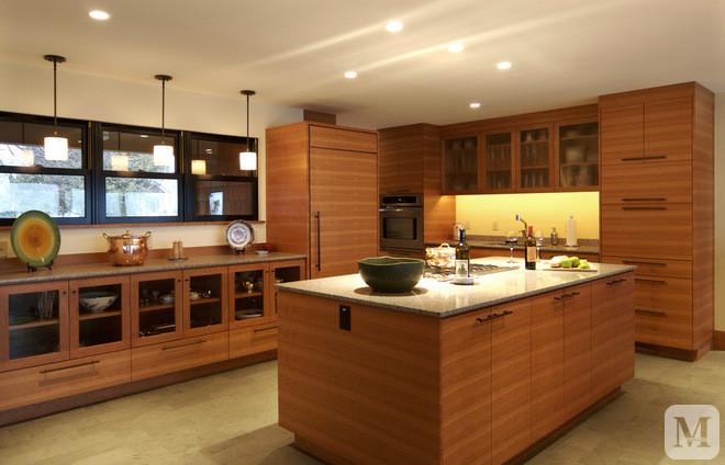 【装修效果图】欧式厨房间装修效果图设计颜色搭配
