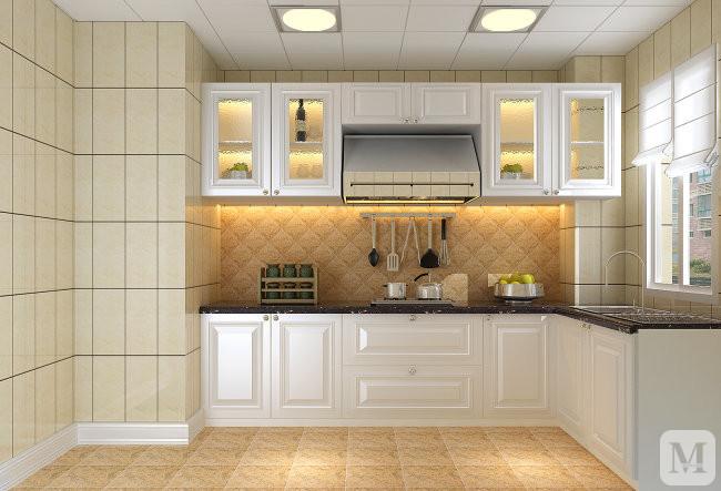 【装修效果图】嫌中式装修太普通?看看欧式厨房间装修效果图