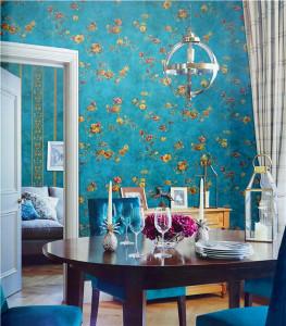 美克思丽 墙纸 小美风格墙纸适合卧室客厅 A75084