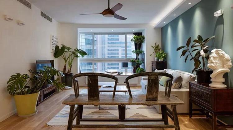 次卧改客厅,阳台变卫浴,124㎡三房改两房的空间利用绝了!