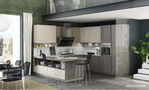 志邦 X-LIFE厨房 只有健康置于首位 才能尽享生活美味 为自然所偏爱的 安心厨房 多重环保认证 给您安心美味 国产双饰面 国产双饰面