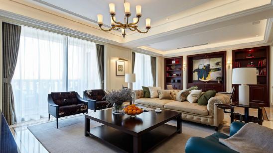 169平美式四居室