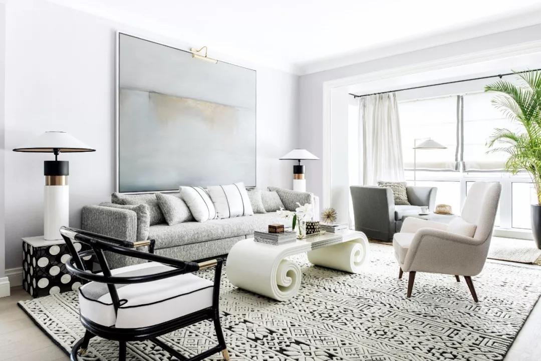 """这套参照奥巴马豪宅设计的""""白屋"""",代表了上流社会的主流审美"""