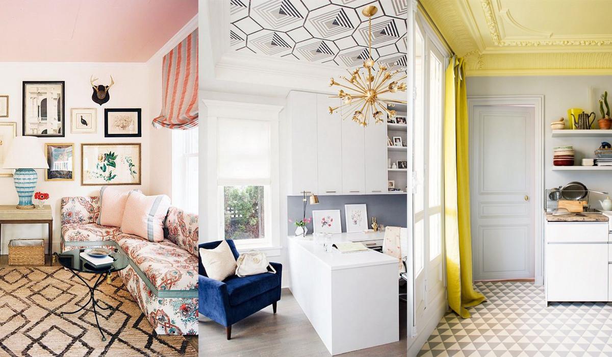 大白屋顶太普通?3种创意玩法让天花板美出新高度