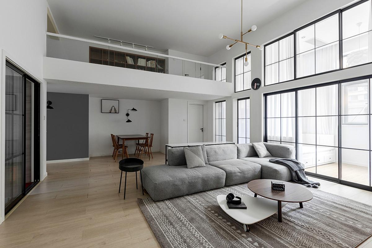 4米层高户型巧搭阁楼,使用功能与空间优势兼顾!