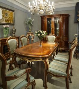 好人家 餐桌 阿斯那家具,轻启时光,奢华至上 阿斯那 5758-310-5B