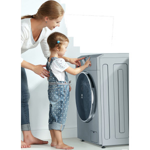 云米 互联网洗衣机 9公斤全自动滚筒变频洗衣机 W9X