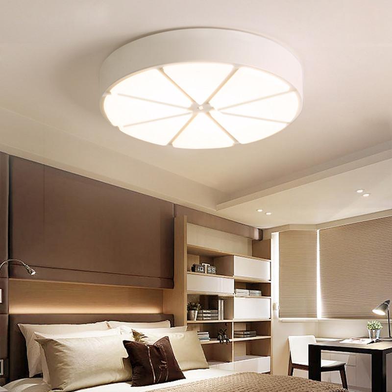 雷士照明 圆形led卧室灯具创意吸顶灯儿童房女孩公主房间小吸顶灯