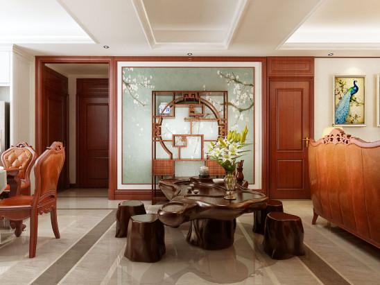 168㎡海珀天沅,四室两厅美式设计