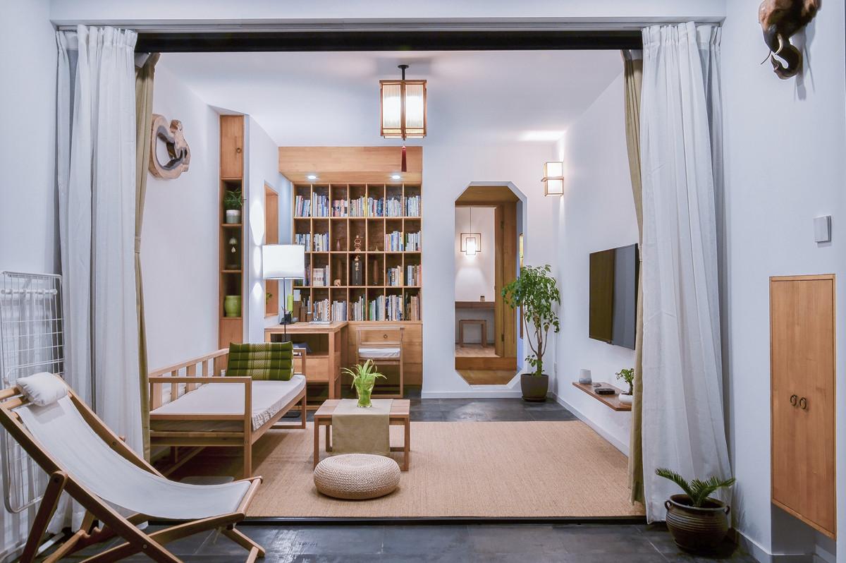 """这对建筑夫妇把家造成""""园林"""",大隐隐于市把日子过成了诗……"""