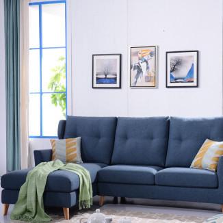 北欧简约客厅组合沙发