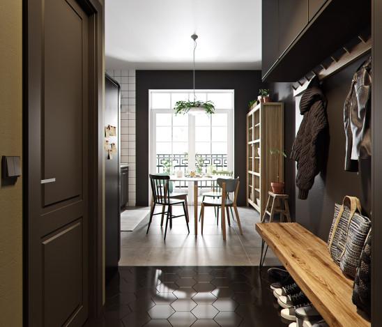 精致艺术的简约北欧两室居