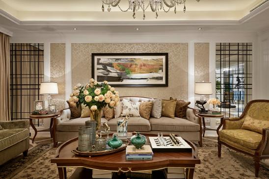 欧式新古典华丽风 四室三厅