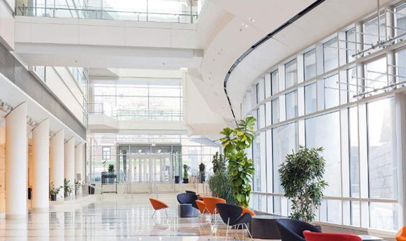 【裝修設計】辦公樓大廳效果圖欣賞,有哪些?辦公樓大廳設計呢?
