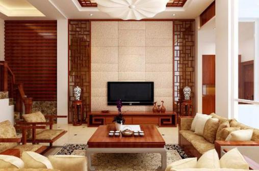 复古设计的中式装修效果图更显中国风