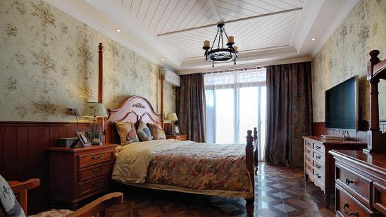 现代美式一居室