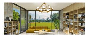 OPPLE 吊灯百灵-调光调色 设计灵感源于树枝上的百灵鸟,俏皮可爱,寻得一处宁静与舒适,表达对田园生活的向往。搭配美式/中式或现代 欧普灯具 MZD850-D0.5*144WT