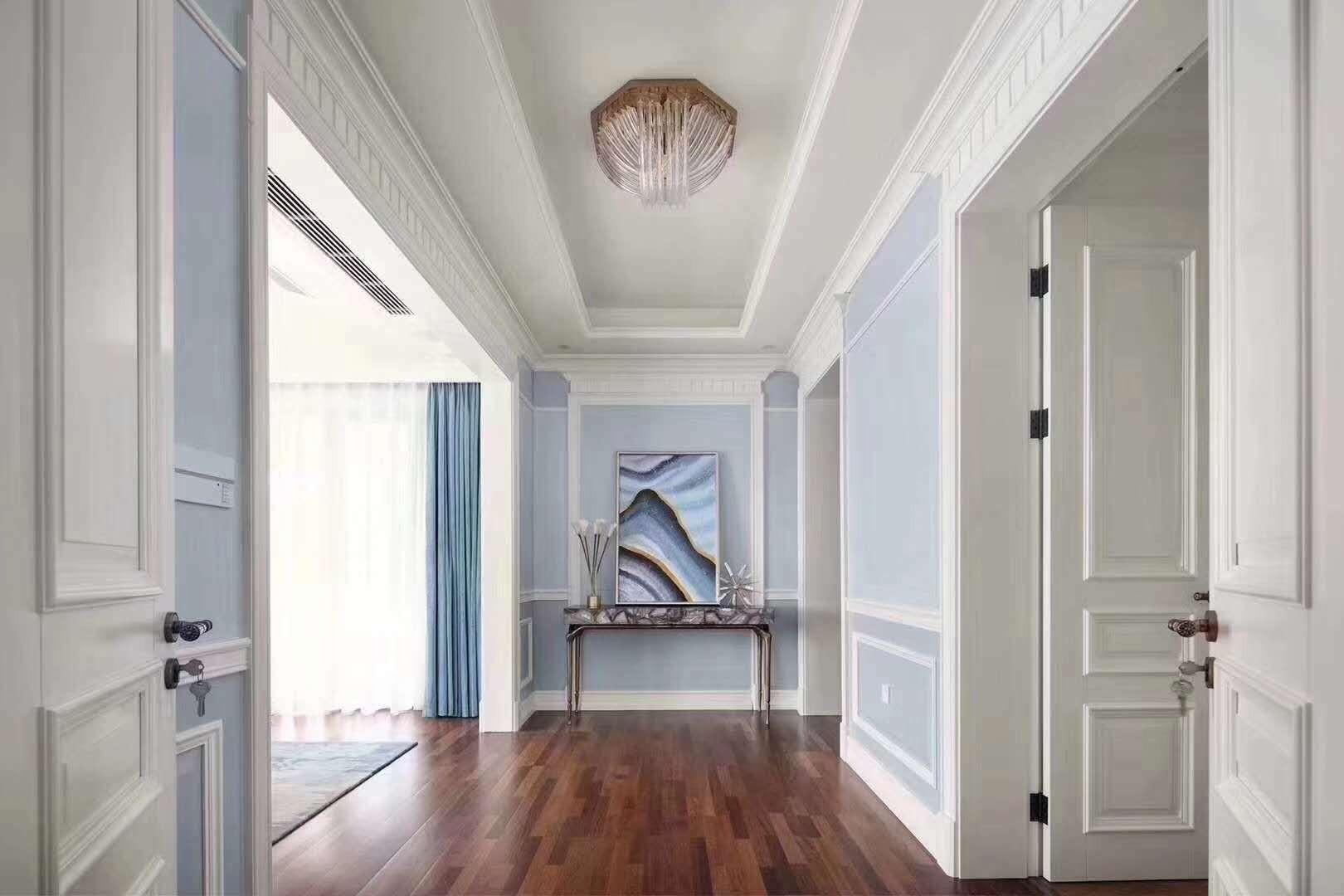 德国汉诺地板 三层实木复合地板 客厅  书房   衣帽间  卧室   中式  法式 玛宝木/三拼/Pm SS17XA-525190