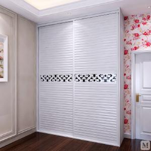 索菲亚 衣柜 现代简约 索菲亚全屋定制 白蔷薇百叶