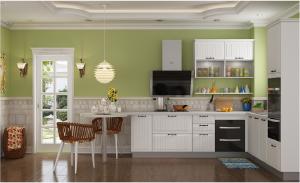 金牌 厨柜 地中海风格整体橱柜定制 西雅图1
