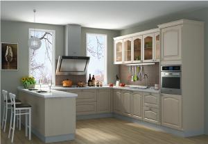 金牌 厨柜 欧式风格整体橱柜定制 西雅图2