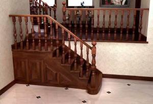 戴氏 楼梯 中式,欧美式楼梯 DS圆形柱